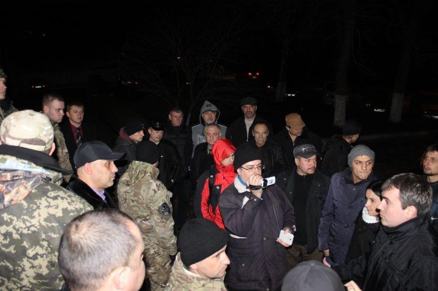 Правоохранители Кривого Рога доставили в РОВД для дачи показаний трех участников акции протеста (ДОБАВЛЕНЫ ФОТО), фото-5