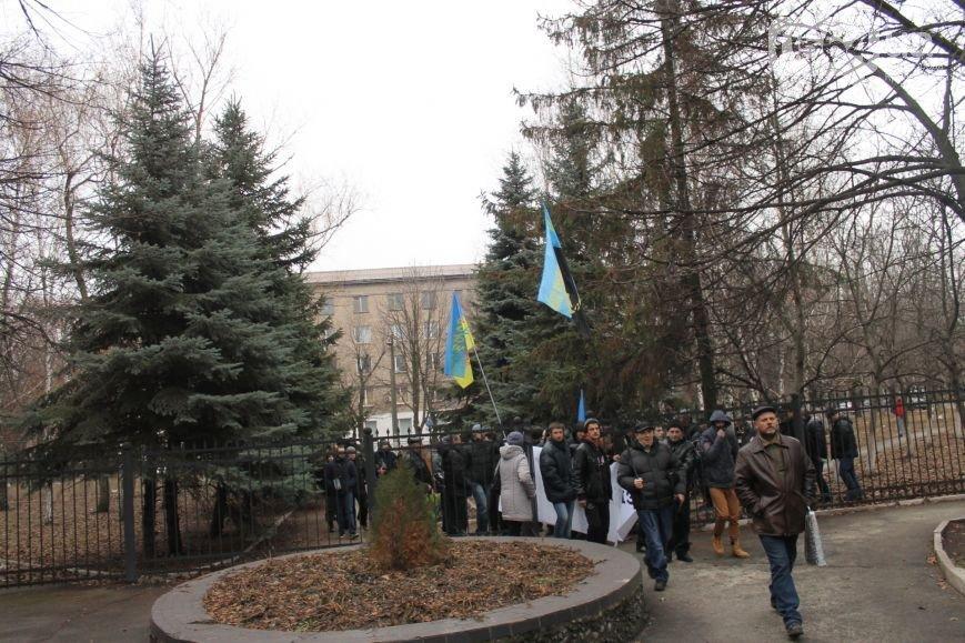 В Кривом Роге группа людей ворвалась в офис «Метинвеста», а милиция доставила в РОВД протестующих (фото) - фото 1