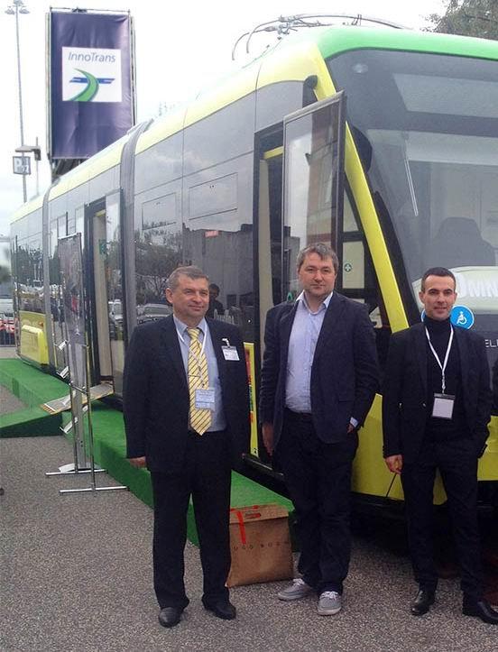 У Львові випустили новий трамвай для широкої колії (ФОТО) (фото) - фото 1