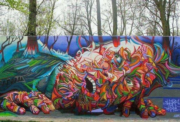 Шедеври світового street-art, фото-12