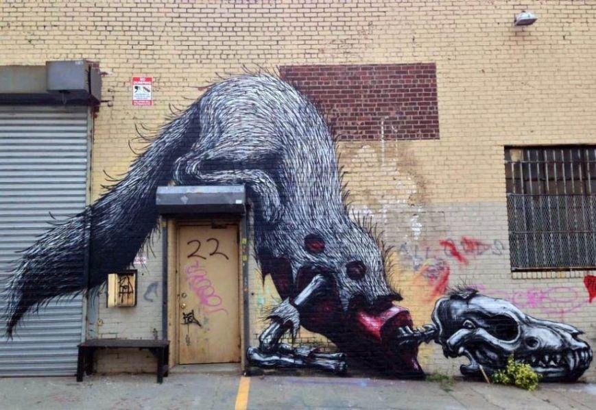 Шедеври світового street-art, фото-13