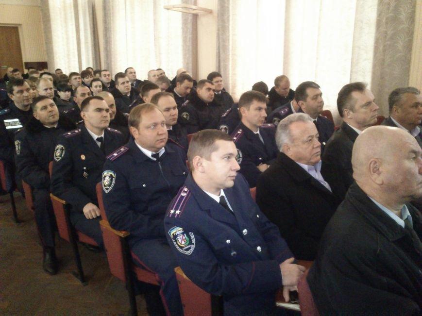 Днепродзержинские стражи правопорядка принимали поздравления ко Дню милиции Украины, фото-4
