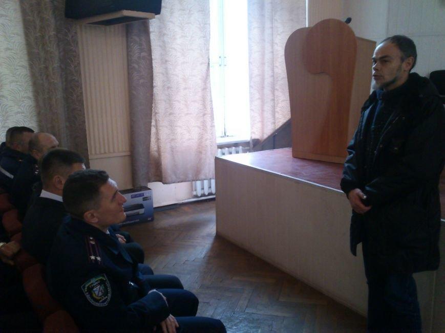 Днепродзержинские стражи правопорядка принимали поздравления ко Дню милиции Украины, фото-2