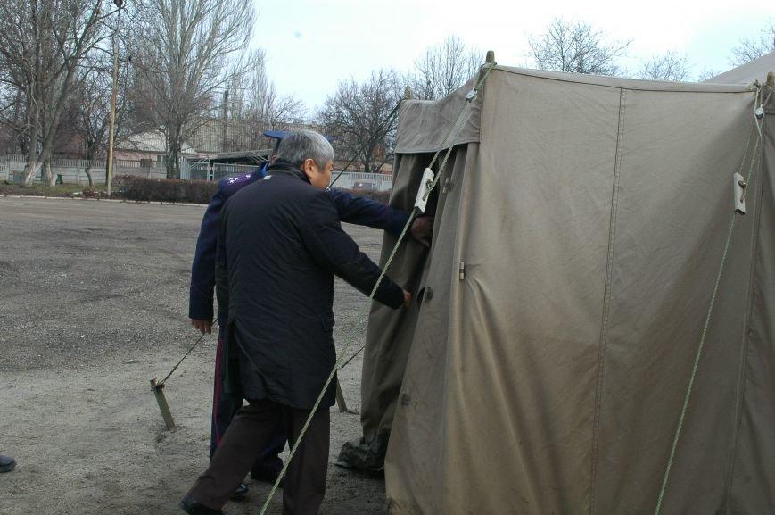 Запорожским бойцам Нацгвардии подарили буржуйки (ФОТО), фото-2