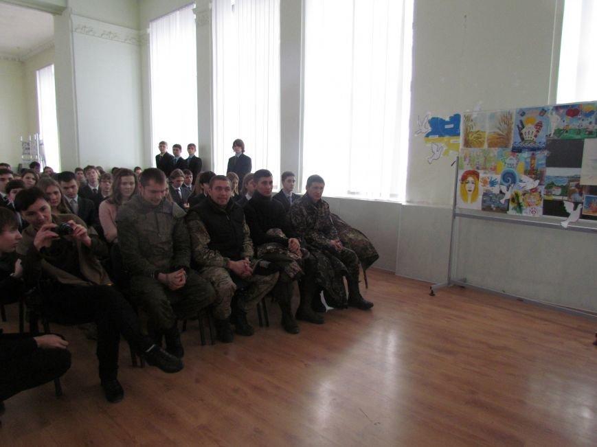 Мариупольские лицеисты поздравили танкистов с днем Святого Николая (ФОТО), фото-7
