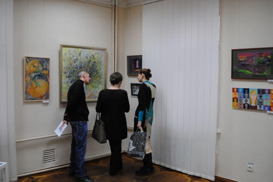 В Харьковском художественном музее открылась выставка художников-педагогов, которые решили показать, что они могут (ФОТО), фото-9