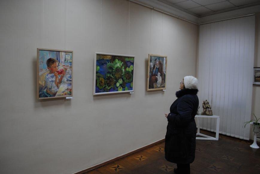 В Харьковском художественном музее открылась выставка художников-педагогов, которые решили показать, что они могут (ФОТО), фото-6