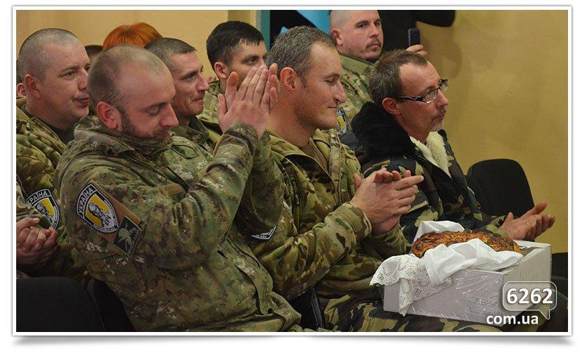Концерт «З Україною в серці» для бойцов в Славянске (фото) - фото 6