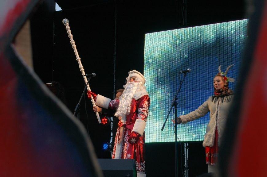 В Запорожье торжественно открыли центральную новогоднюю ёлку (ФОТО), фото-3