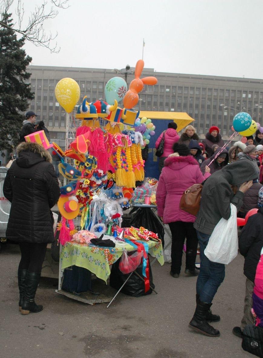 В Запорожье торжественно открыли центральную новогоднюю ёлку (ФОТО), фото-6