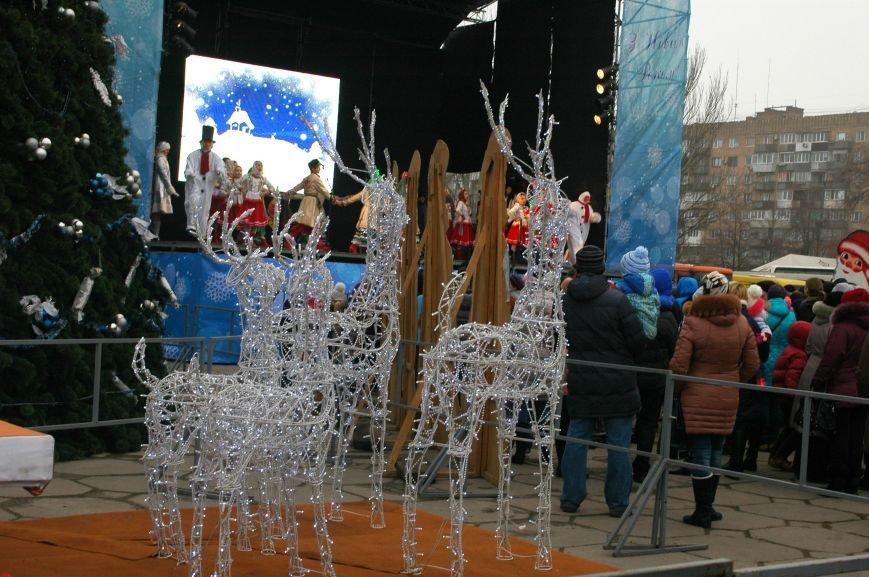 В Запорожье торжественно открыли центральную новогоднюю ёлку (ФОТО), фото-8