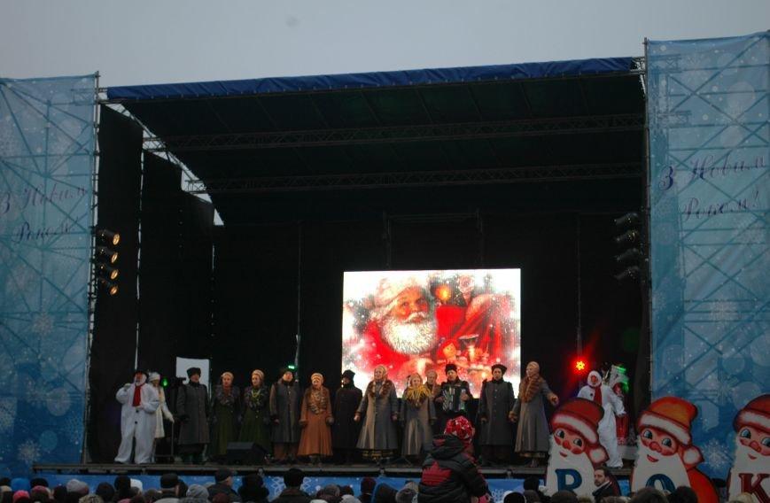В Запорожье торжественно открыли центральную новогоднюю ёлку (ФОТО), фото-2