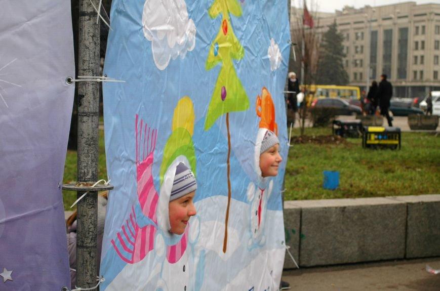В Запорожье торжественно открыли центральную новогоднюю ёлку (ФОТО), фото-4