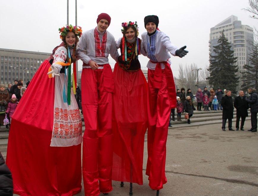 В Запорожье торжественно открыли центральную новогоднюю ёлку (ФОТО), фото-10