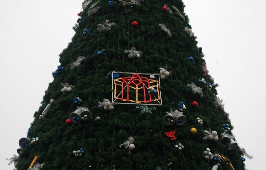 В Запорожье торжественно открыли центральную новогоднюю ёлку (ФОТО), фото-7