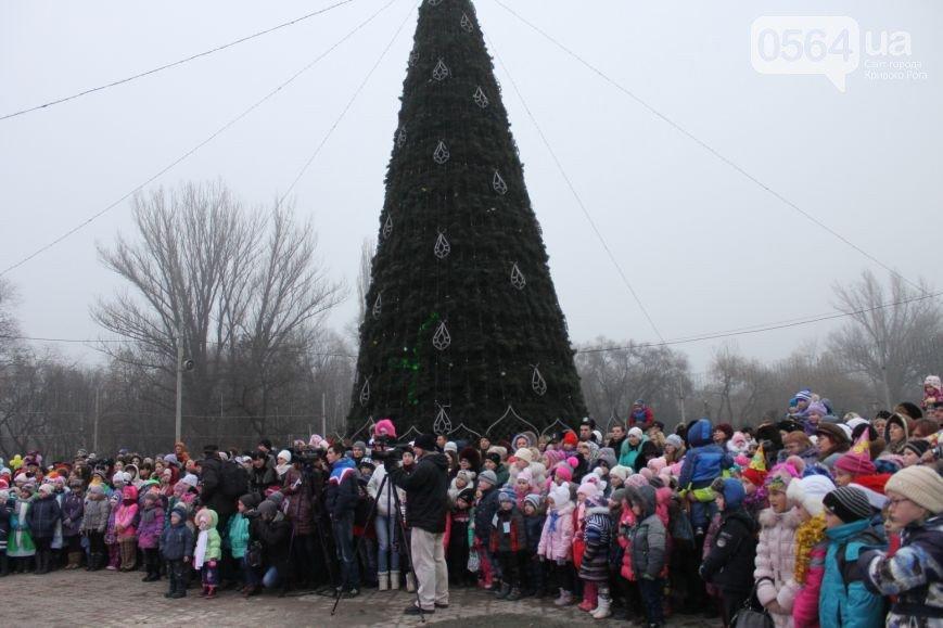 В Кривом Роге: открыли главную городскую елку, а «Правый сектор» заявил, что не причастен к штурму «Метинвеста» (фото) - фото 2