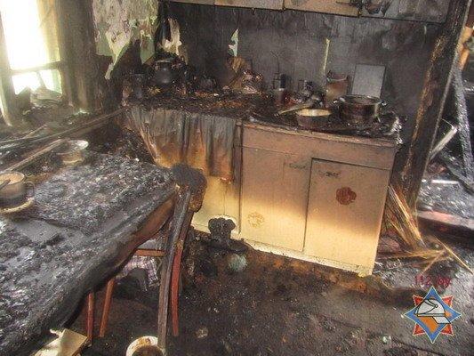 В Гродно на пожаре погиб пенсионер (Фото), фото-3