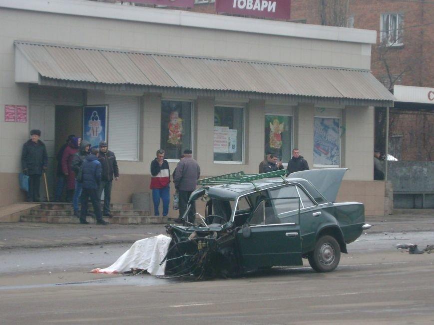 Страшное ДТП в  Кривом Роге: пассажирка «Жигулей» скончалась на месте, водитель в реанимации (ФОТО), фото-1