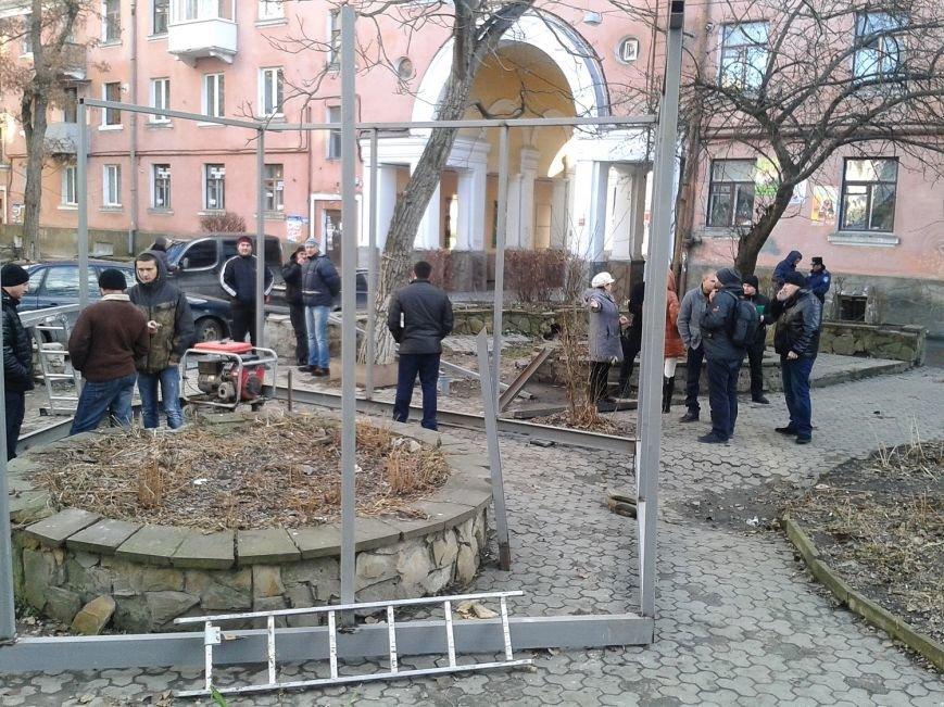 У Тернополі – черговий земельний скандал «під носом» у міліції (фото) - фото 1