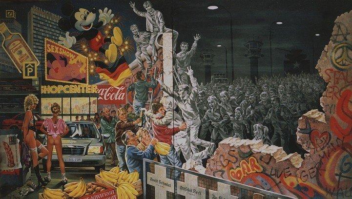 Рисунки на Берлинской стене (фото) (фото) - фото 2