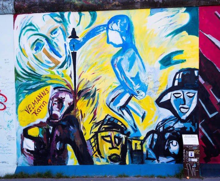 Рисунки на Берлинской стене (фото) (фото) - фото 4