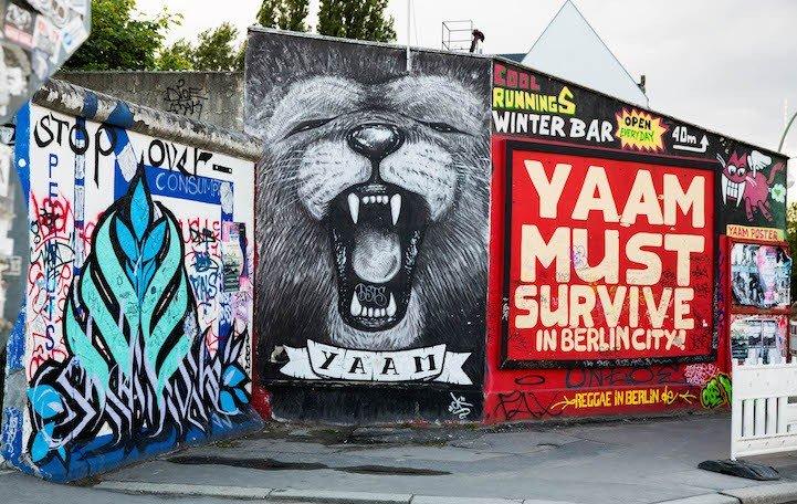 Рисунки на Берлинской стене (фото) (фото) - фото 7