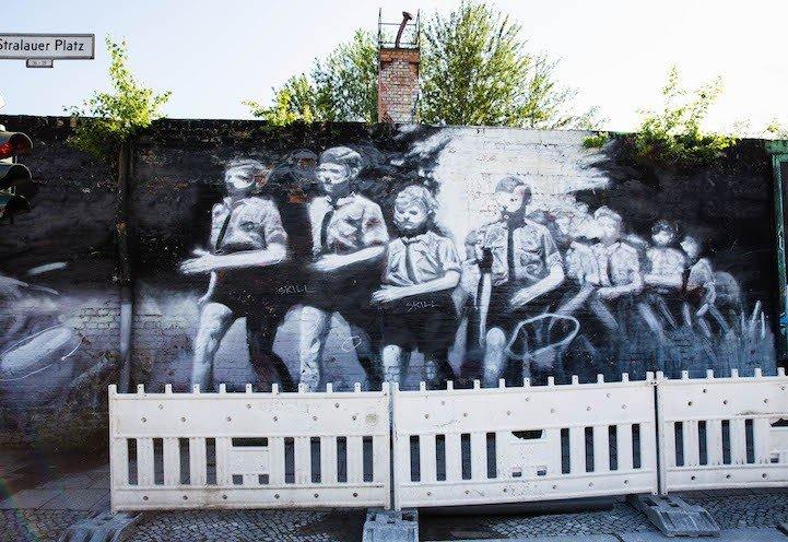 Рисунки на Берлинской стене (фото) (фото) - фото 3