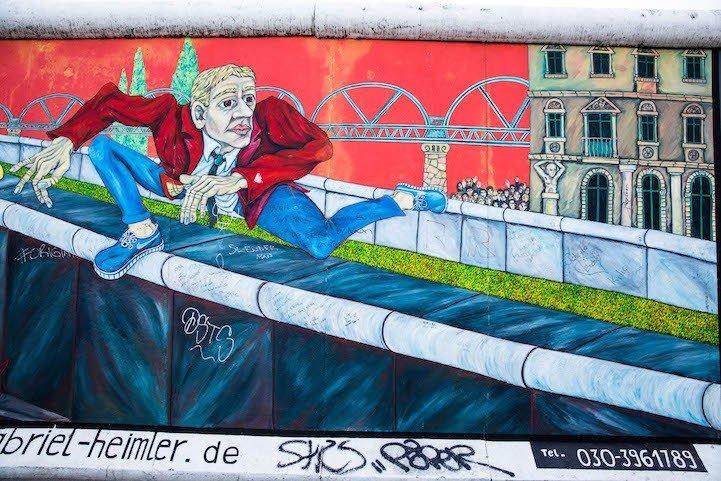 Рисунки на Берлинской стене (фото) (фото) - фото 6
