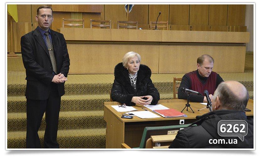 В Славянске слушания. Кандидаты на должность  главы отдела  образования пожали друг другу руки (фото) - фото 3