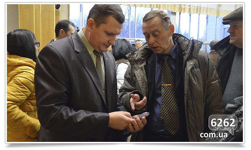 В Славянске слушания. Кандидаты на должность  главы отдела  образования пожали друг другу руки (фото) - фото 6