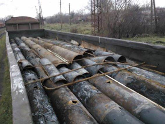 В Мариуполь прибыл металлолом из зоны АТО (ФОТО) (фото) - фото 1