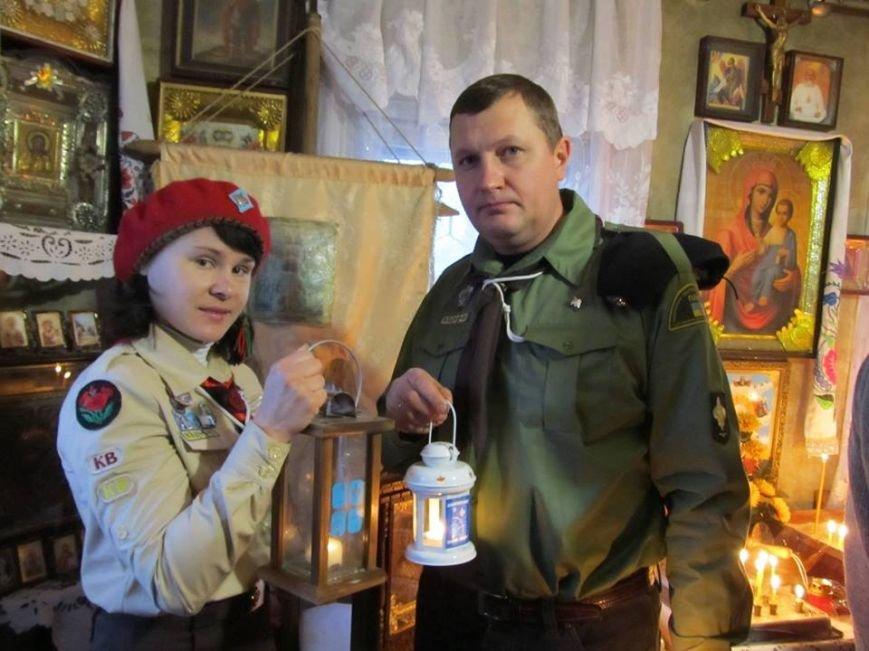 Вифлеемский огонь мира уже в Славянске! (фото) - фото 1