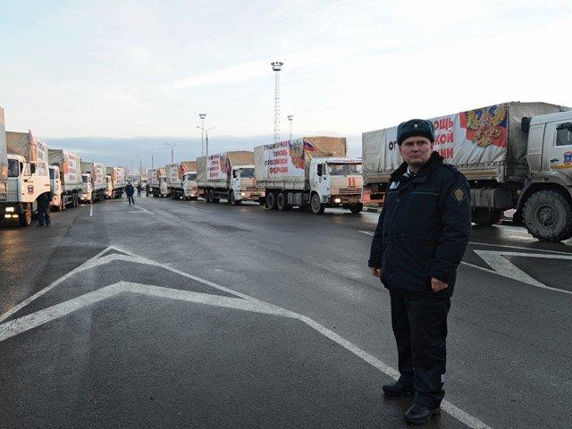 Десятый Гумконвой прибыл в Украину (фото) - фото 1