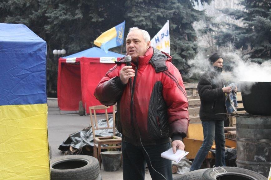 Организаторы акции протеста под горисполкомом призвали заменить чиновников-коррупционеров на своих людей (ФОТО), фото-7