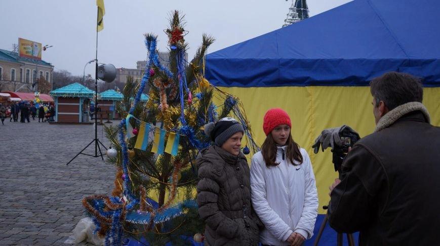 На площади Свободы записали поздравление бойцам АТО (ФОТО), фото-4