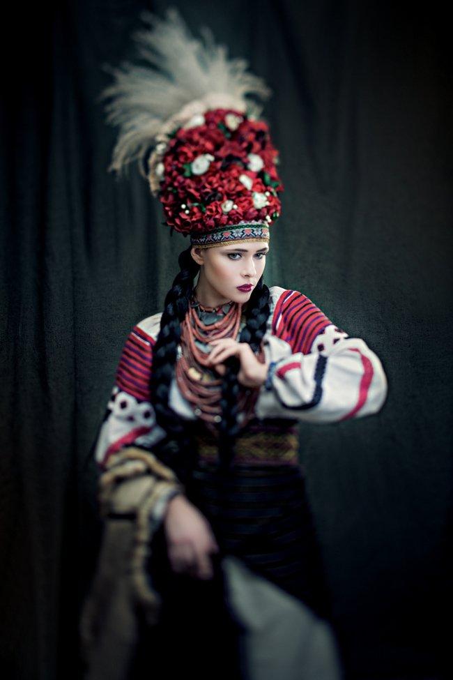 Украинских звезд одели в национальные костюмы(+фото) (фото) - фото 5