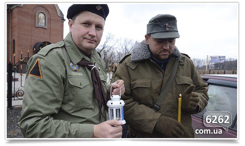 Вифлеемский огонь из Славянска зажёгся в Карловке. (фото) - фото 2
