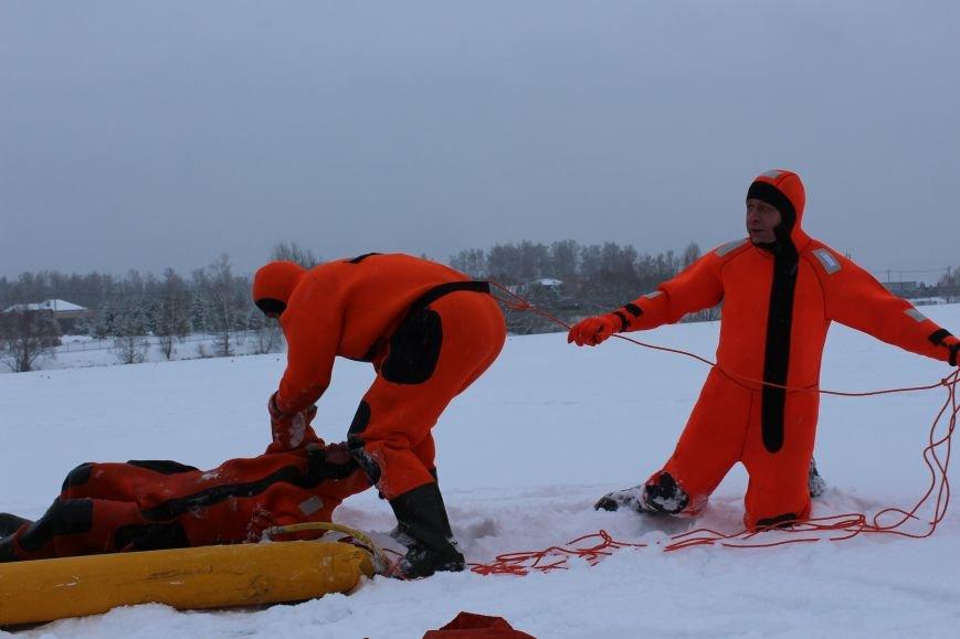 Сотрудники МЧС предупреждают жителей ТиНАО  об опасности на льду!, фото-2