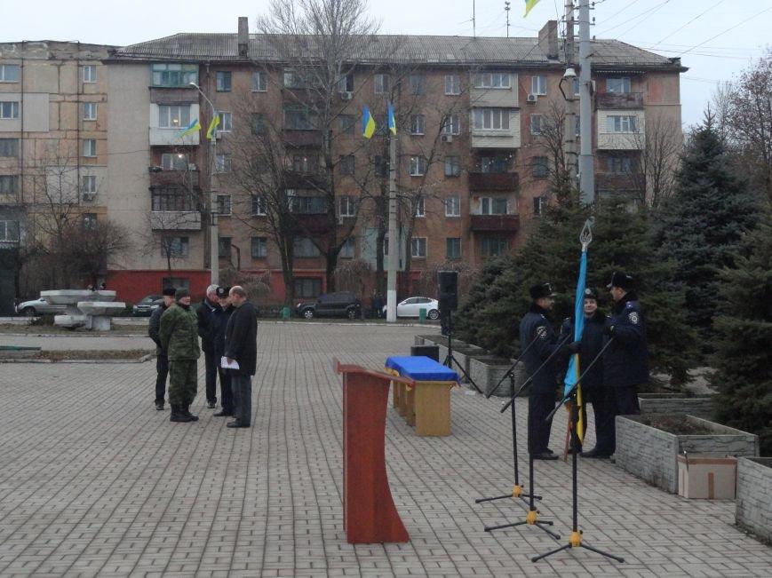 В мариуполе на площади имени Комсомола репетировали марш, искали взрывчатку (ФОТОРЕПОРТАЖ) (фото) - фото 1