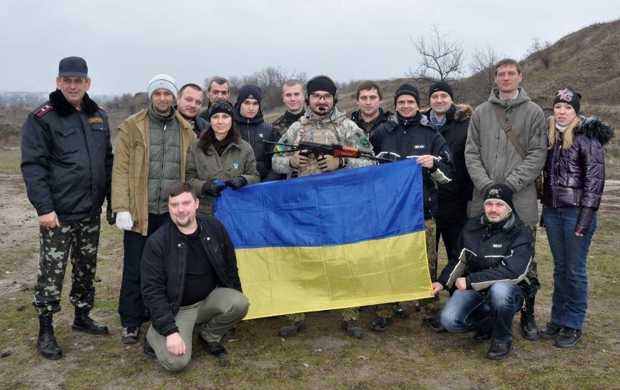 ФОТОФАКТ: В Запорожье бойцы Самообороны Майдана упражнялись в стрельбе, фото-4