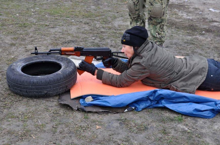 ФОТОФАКТ: В Запорожье бойцы Самообороны Майдана упражнялись в стрельбе, фото-3