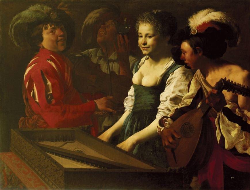 ГендрікТербрюгген. Концерт.1626р. п,о., 116х153.