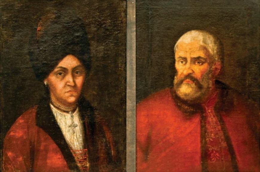 нев.худ. Портрет Олени та Гната Галаганів
