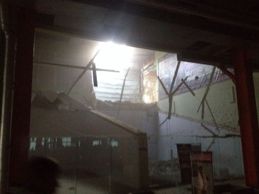 В центре Донецка боевики захватили здание популярного спортивного клуба, фото-1