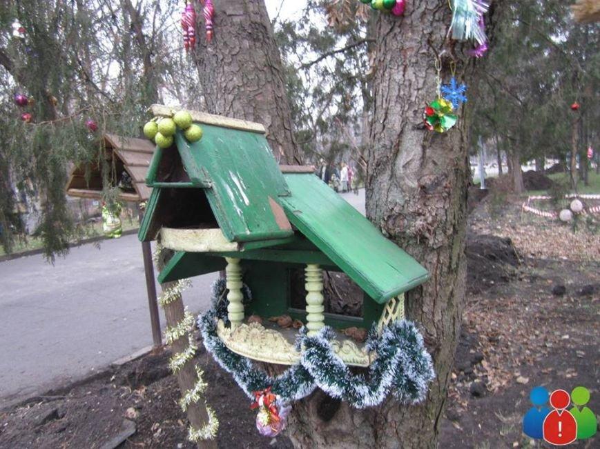 Маленькие криворожане украсили новогодними игрушками парк Правды (ФОТО), фото-22
