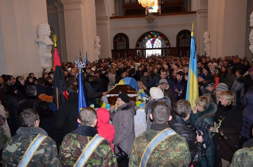 На Львівщині поховали трьох новітніх Героїв АТО (ФОТОРЕПОРТАЖ) (фото) - фото 2