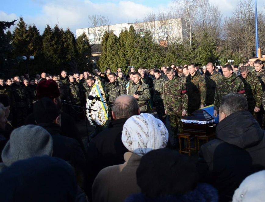 На Львівщині поховали трьох новітніх Героїв АТО (ФОТОРЕПОРТАЖ) (фото) - фото 5