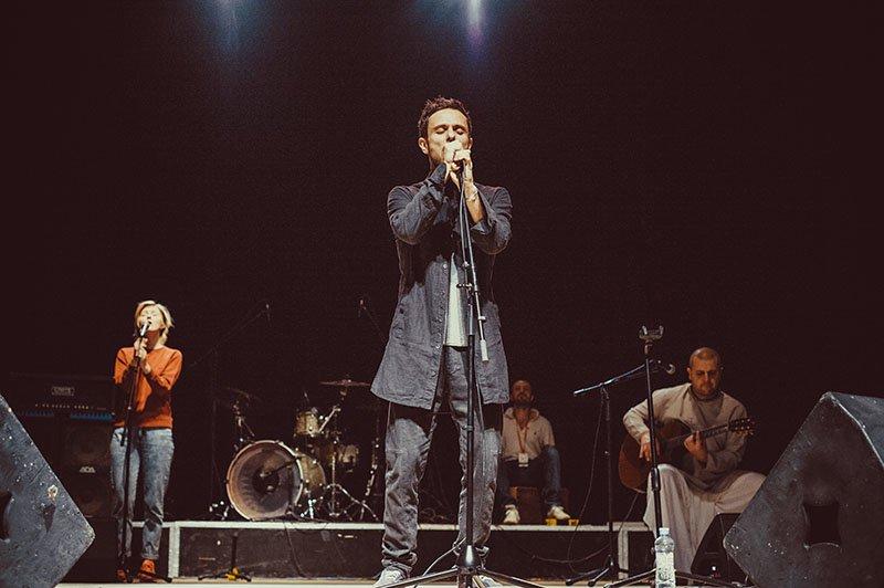 На фестивале здоровой музыки «Красная Рябина» звёзды выступили вместе с белгородскими детьми, фото-5