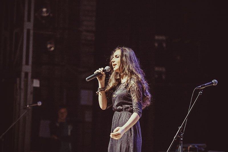 На фестивале здоровой музыки «Красная Рябина» звёзды выступили вместе с белгородскими детьми, фото-1
