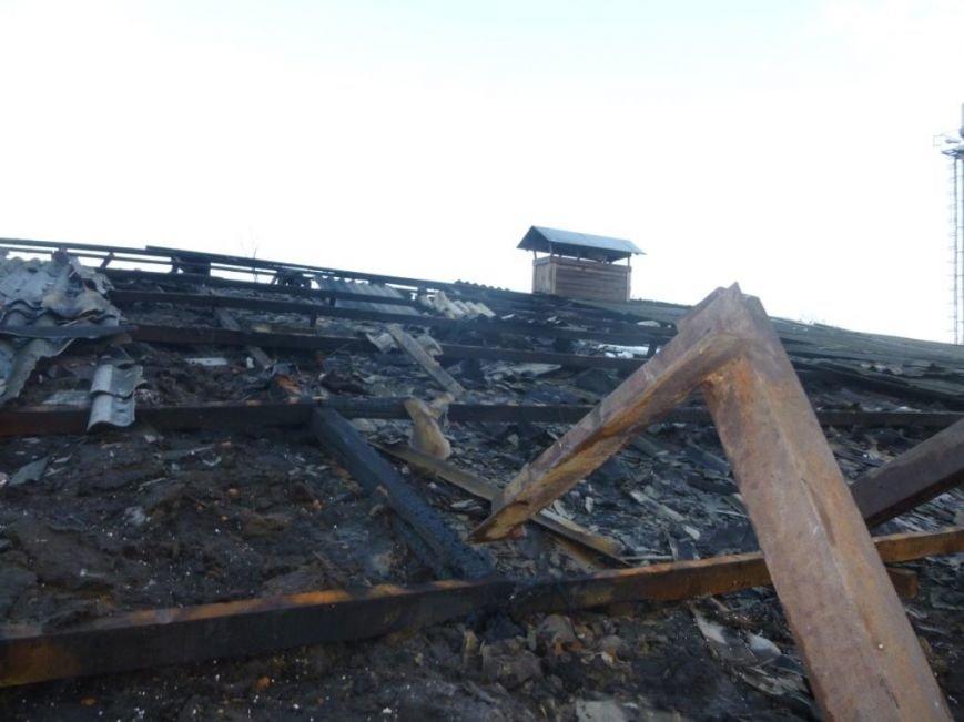 В Сумах горела конная школа (ФОТО) (фото) - фото 1